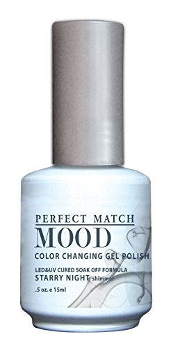 LECHAT Perfect Match Mood Gel Polish, Starry Night, 0.500 Ounce