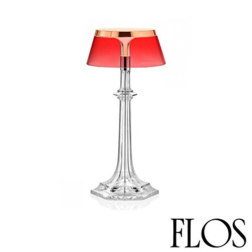 (Flos Bon Jour Versailles Small LED Table Lamp Copper Red F1042015 F1036035)
