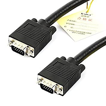 tisers 2 m 6.56 ft vga a conector VGA RGBHV Componentes de Video & Audio de