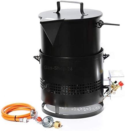Hornillo de asfalto – Hornillo de gas 8 kW + cubo de masa de ...