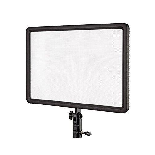 Godox LEDP-260C Portable Dimmable LED Video Light with RC-A5 Remote Control, 3300K-5600K Adjustable Color Temperature