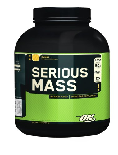 Optimum Nutrition Serious Mass Vanilla 6Lb Weight Gainer