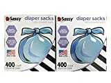 Sassy Baby Disposable Diaper Sacks, 400 Count, (Pack of 2)
