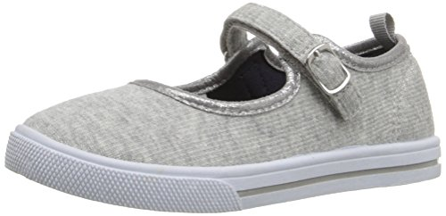 OshKosh B'Gosh Lola Casual Mary Jane (Toddler/Little Kid), Grey, 11 M US Little Kid