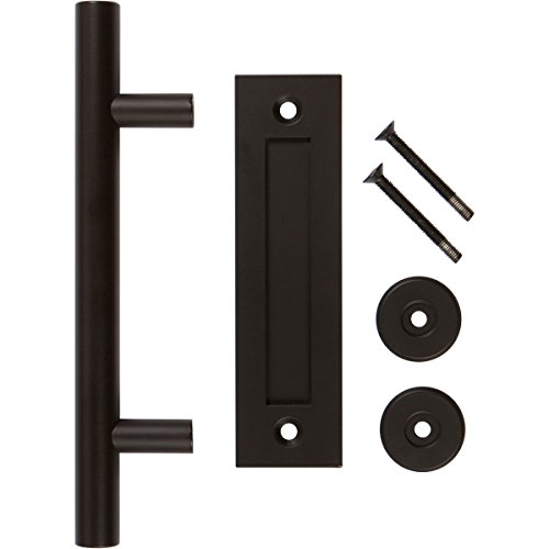 Flush Wood Doors - Black 12