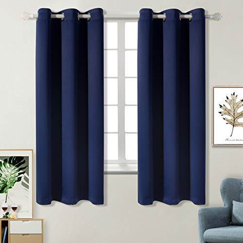 10 best navy blue curtains 63 inch length for 2019