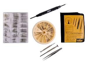 Rolson 59225 - Kit de reparación de relojes y gafas