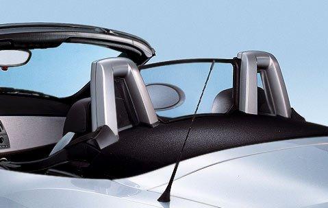 BMW Genuine Headrest Roll Bar Trim Cover Rear Left Silver 51 43 7 055 439
