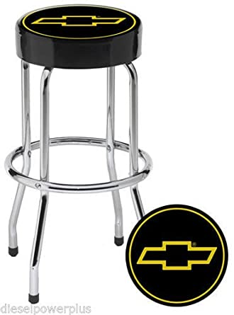 Surprising Amazon Com Plasticolor Chevy Garage Stool Chevy Chevrolet Ncnpc Chair Design For Home Ncnpcorg