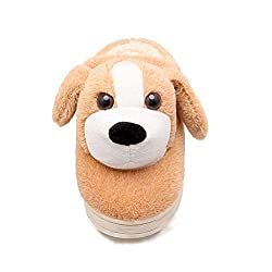 Fay Waters Women S Children Indoor Slippers Lovely Anime Cartoon Dog Warm Plush House Shoes
