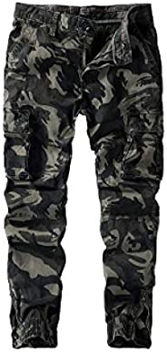 nobranded Men's Pants Camouflage Pants Overalls Thick Casual Pants Large Size Out