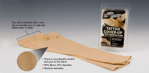 Amazoncom Tatjacket Tattoo Cover Up Concealer Sleeve Full Arm