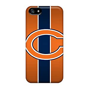 Iphone 5/5s GQf11428yHZr Provide Private Custom Colorful Chicago Bears Pictures Excellent Hard Cell-phone Cases -DrawsBriscoe