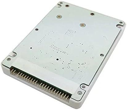 Goliton mSATA mini-PCI-E SATA SSD de 2,5 pulgadas IDE 44pin ...