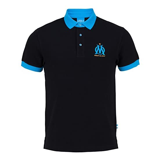 OLYMPIQUE DE MARSEILLE Polo Om - Collection Officielle Taille Adulte Homme
