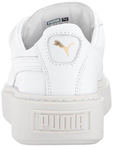 White Womens puma Wn Basket PUMA Platform Puma Strap White dOFCnYqw