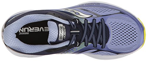 Citron Purple 10 Navy Running Morado Mujer Guide Zapatillas Saucony para de vS81q
