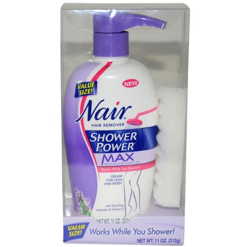 Nair Shower Power Max Hair Removal Cream - 11 oz