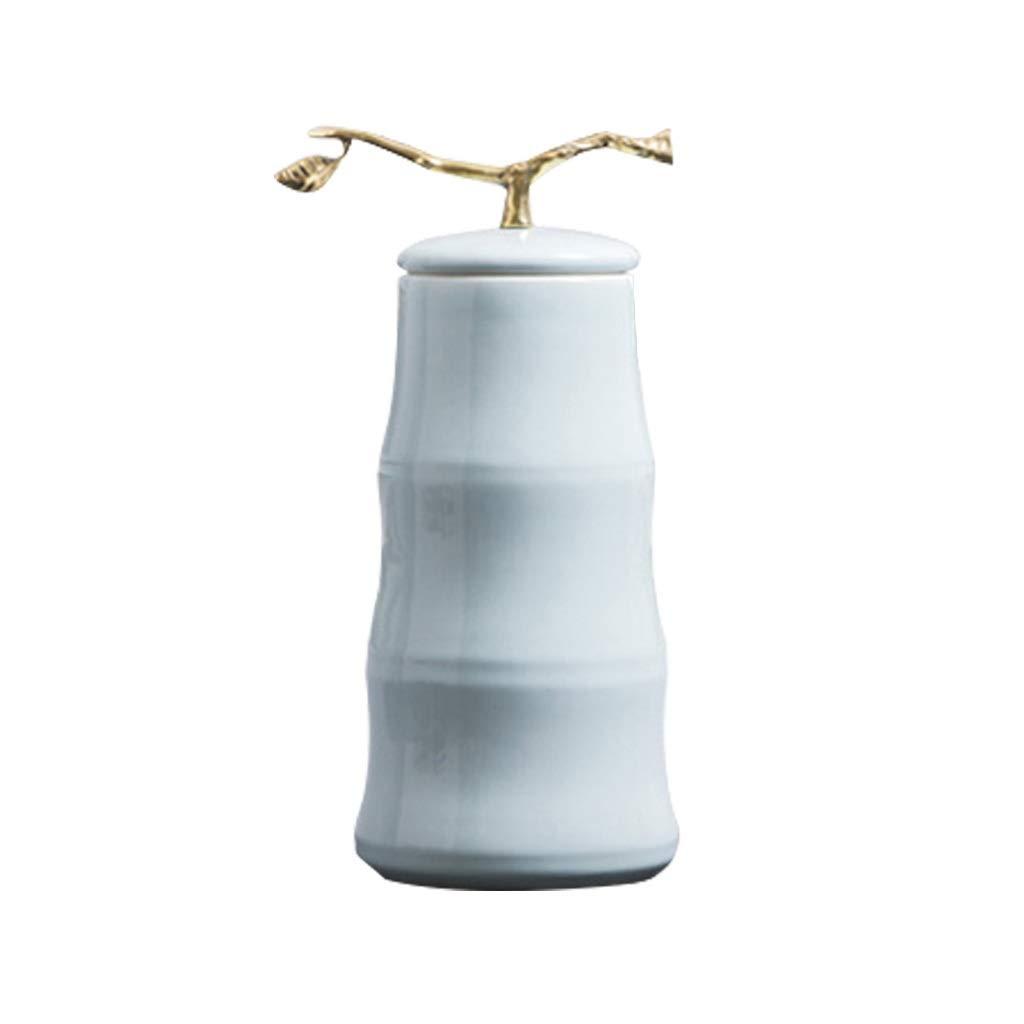 MAHONGQING 新しい中国のセラミック花瓶花クリエイティブテレビキャビネットフラワーアレンジメント竹の装飾装飾 B07SYZN2Y9