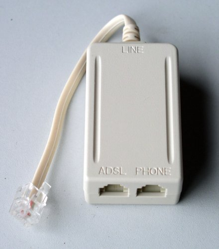 DSL439 1-Line Inline Filter with Giveback Jack ADSL DSL