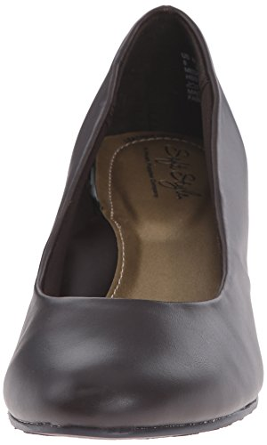 Gail Puppies Hush Women's Shoes Brown Leather Dark qfdERwnd