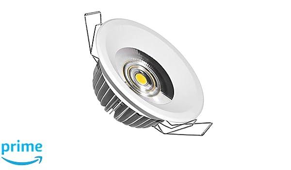 Guli Moon Downlight LED 4000 K, Transparente, 35 W, Blanco, Ø230 x 80 mm: Amazon.es: Bricolaje y herramientas