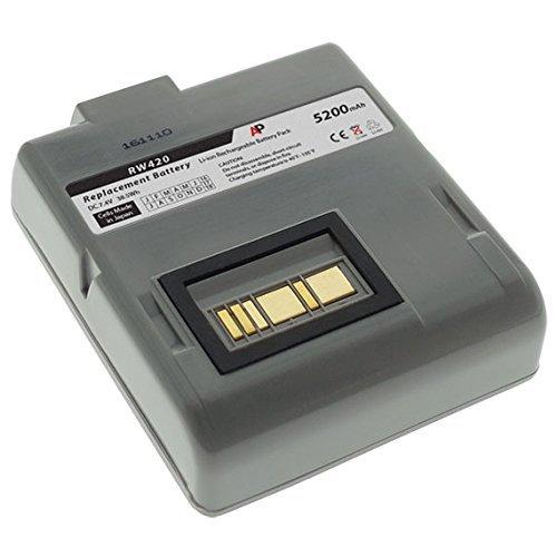 Artisan Power Zebra/Comtec RW420 Barcode Printer: Replacement Battery. 5200 mAh ()