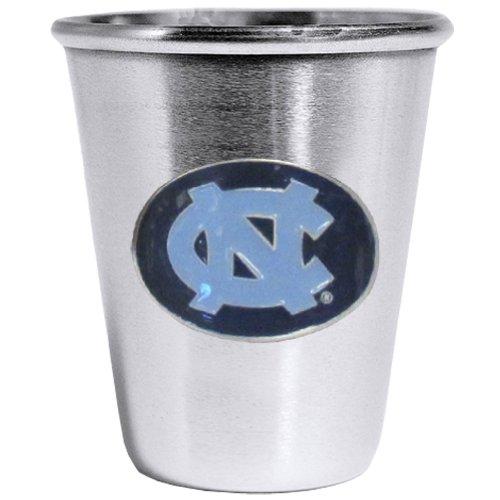 Siskiyou NCAA North Carolina Tar Heels Steel Shot Glass