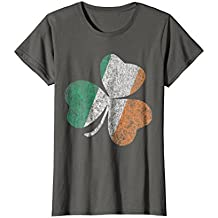 Vintage Ireland Flag Shamrock T-Shirt