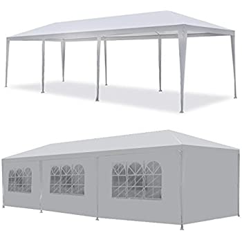 MCombo Canopy Party outdoor 5 Removable Walls Wedding Tent White ...  sc 1 st  Amazon.com & Amazon.com : MCombo Canopy Party outdoor Gazebo 7 Removable Walls ...