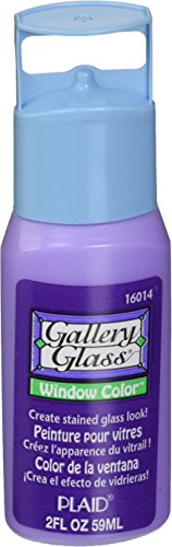 Glass Amethyst (Plaid Gallery Glass Window Color in Assorted Colors (2 oz), 16014, Amethyst)