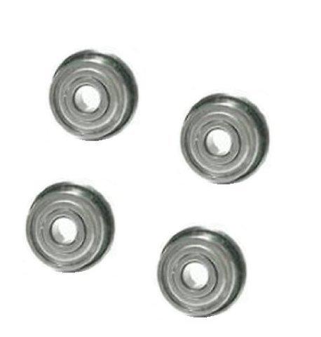 [4] Free Rolling Flanged Ball Bearing 1-1/8