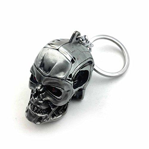 Skull Fob Key (1pc Creative Motorcycle Bicycle Skull Key Chain Ring Keychain Keyring Key Fob)