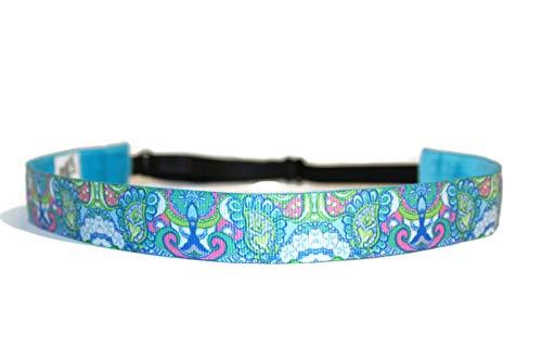 BEACHGIRL Bands Headband Womens & Girl Non-Slip Adjustable Sport Hairband Sand Dollar (Lounge Sand Dollar)