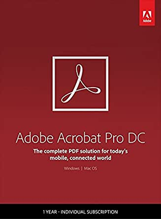 Resultado de imagen de Adobe Acrobat Pro DC