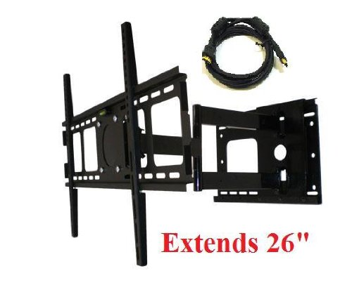 HEAVY DUTY Articulating Tilt/Swivel Wall Mount for 27