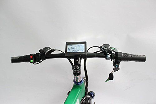 48V eBikeTwist Throttle Speed Throttle Half Bar Throttle with electric lock Electric Scooter ebike Throttle Grip Accelerator