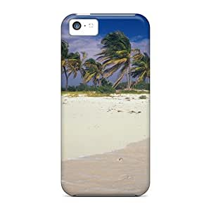 Top Quality Protection Sy Beach Isl Of Anguilla Case Cover For Iphone 5c