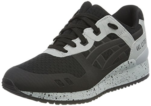 Asics Unisex-Erwachsene Gel-Lyte III NS Sneaker Schwarz (Black/Black)