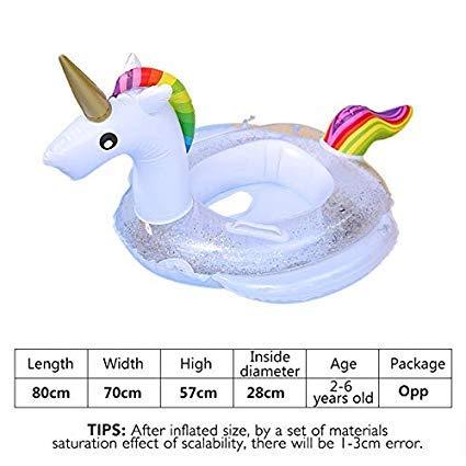 Vercico - Asiento de Piscina Hinchable para bebé, diseño de ...