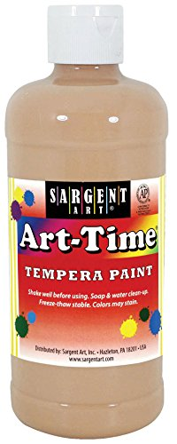 Sargent Art 17-6487 16 oz Peach Art-Time Tempera Paint