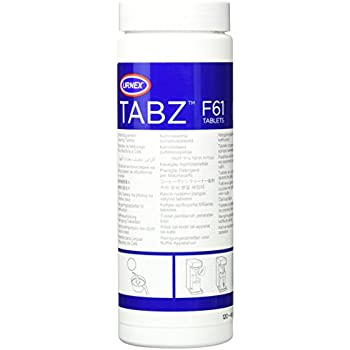 Urnex Tabz Coffee Brewer Cleaning Tablets, 120 Tablets