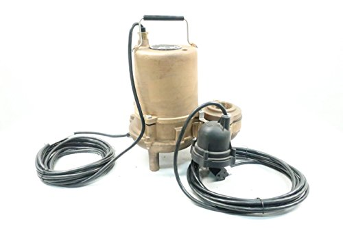 - HYDROMATIC SP50AB1-20 Submersible Pump 1/2HP 2IN 115V-AC D622418