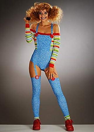 Magic Box Disfraz de muñeca Malvada de Halloween Chucky Style para ...