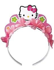 Amscan Awesome Head Dress Hello Kitty Balloon Dreams Tiara Party Accessory, 1 piece