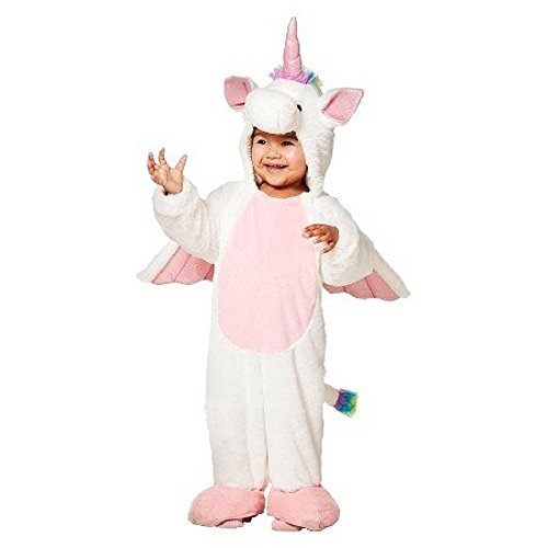 [Toddler Plush Unicorn Costume Jumpsuit Size 18 - 24 Months] (Unicorn Costume Baby)