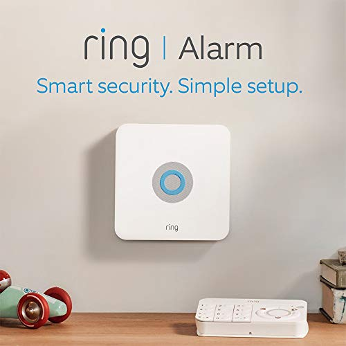 Ring Alarm 5 Piece Kit – Home Security System with optional Assisted Monitoring – No long-term commitments – Works with…