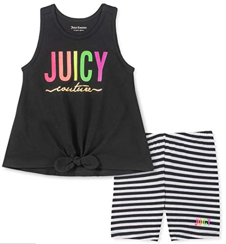 Juicy Couture Baby Girls 2 Pieces Shorts Set, Black 18M from Juicy Couture