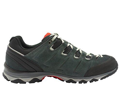 Meindl Melbourne Trekking Guantes Senderismo piel, color, talla 42.5 negro