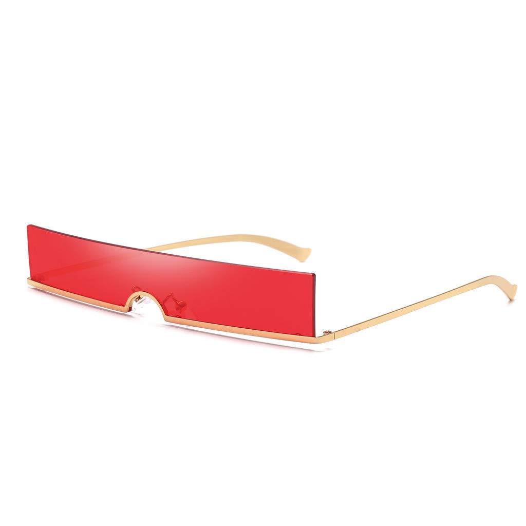 MOIKA Eyewear Eyeglasses Unisex Fashion Square Multi-Color Retro Sunglasses Sunglasses Occhiali E Accessori
